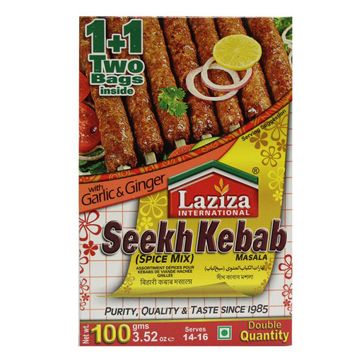 LAZIZA Seekh Kebab Masala
