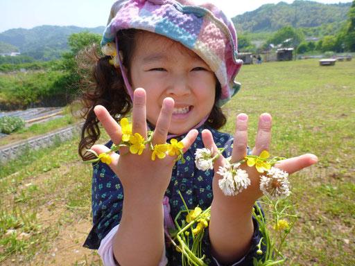 新宮町、福岡市東区はもちろん、古賀市、福津市、糟屋郡、遠くは飯塚市や久留米から毎日通園する園児もいます。