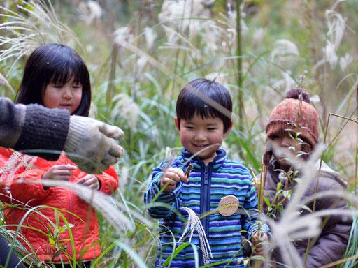 福岡県糟屋郡新宮町の森の中のようちえん「しんぐう里山ようちえん」でお友だちが待っています。体験入園は随時受付中です!