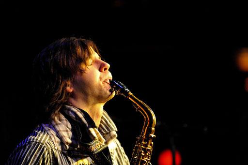 Zhenya Strigalev. Scott's Jazz Club & Ronnie's Bar LOndon