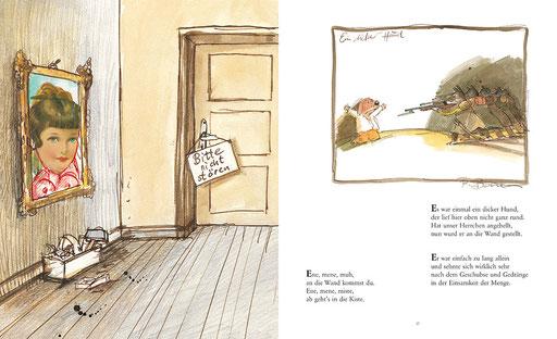Illustrationen und Buchgestaltung zu »Totgelachte leben länger – Schwarze Kinderreime nur für Erwachsene«