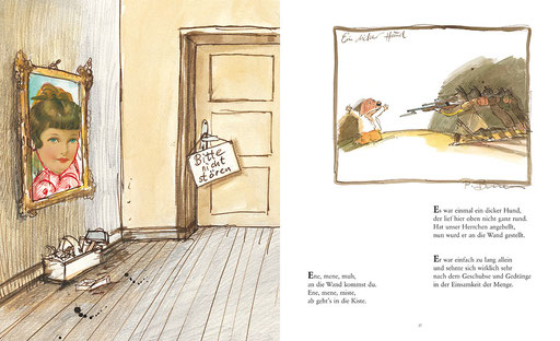 Illustrationen und Buchgestaltung von Peter Bauer zu »Totgelachte leben länger – Schwarze Kinderreime nur für Erwachsene«