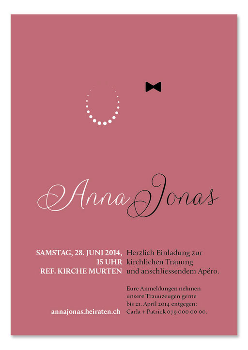 Anna & Jonas: 1-seitig, 105×148 mm