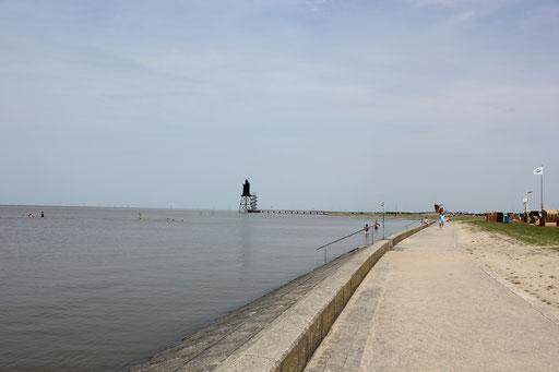 Nordsee bei Flut