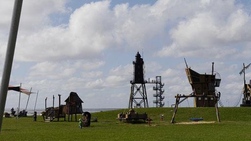Unterm Leuchtturm von Dorum-Neufeld