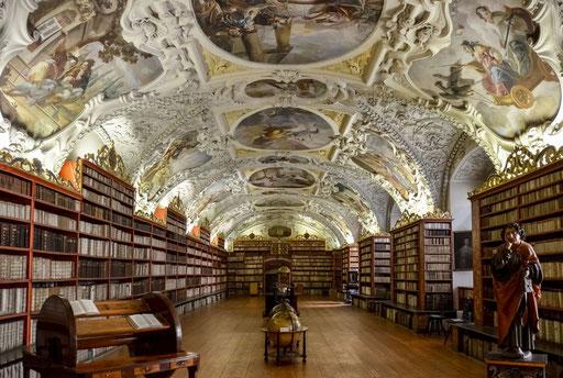 Kloster Strahov - Theologischer Lesesaal