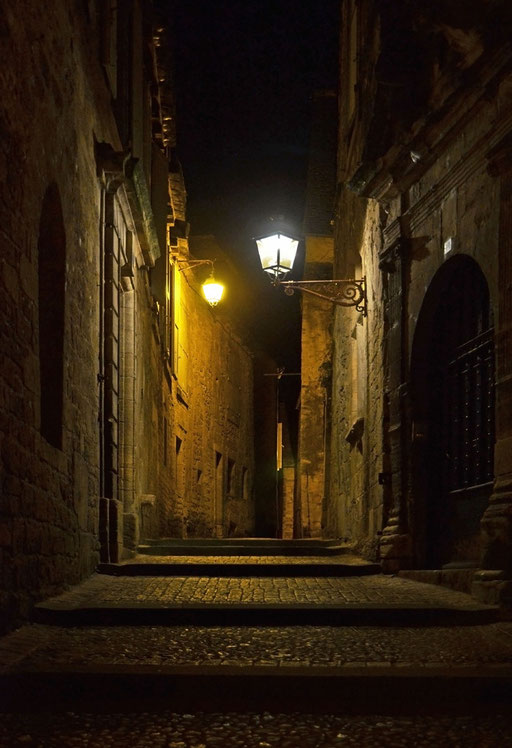 abends in Sarlat