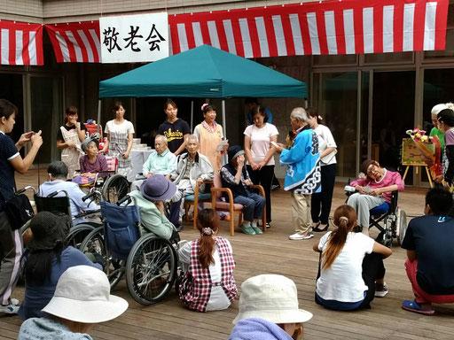 2016.9.25 サンヴェール祭&敬老会を3施設で合同開催しました。