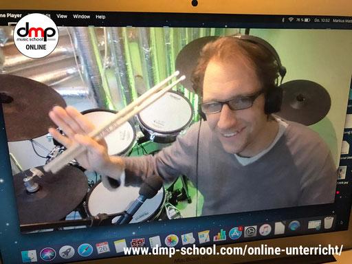 Schlagzeugunterricht online