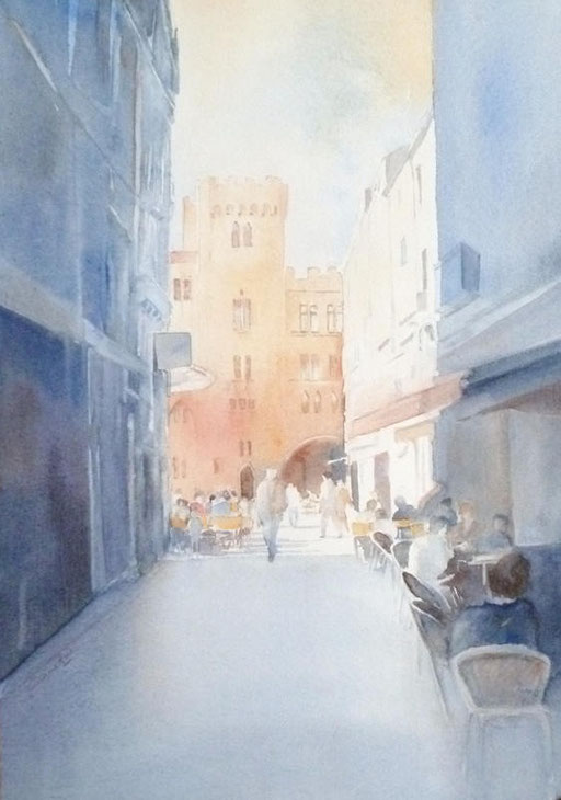 19-Narbonne n°16 Rue de l'ancien courrier 19x29 * (2011)