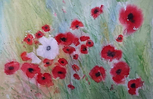 Coquelicots n° 15 23x33 (2018) *