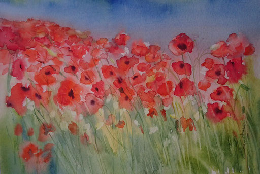 Coquelicots n° 3 19x29 * (2018)