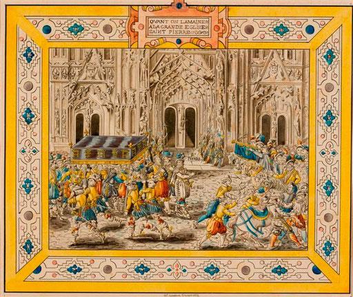 Visite de Henri IV à Troyes