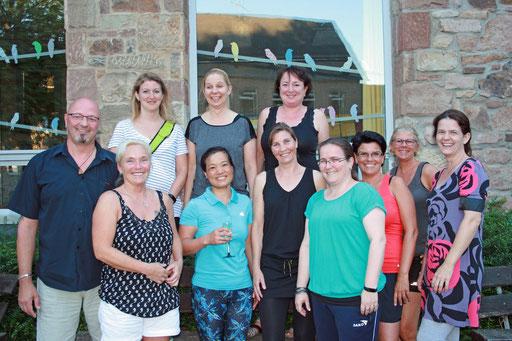 Besuch aller aktiven Tanzgruppen im Vorfeld der Session 2018/19 - Burgelfen