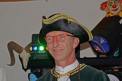 Sessionseröffnung November 2018 - Adjutant Bernd