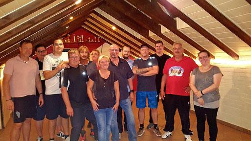 Besuch aller aktiven Tanzgruppen im Vorfeld der Session 2018/19 - Männerballett