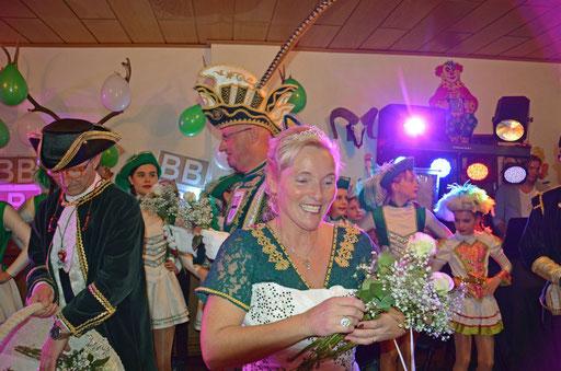 Sessionseröffnung November 2018 - Prinzessin Rosi beim Einmarsch
