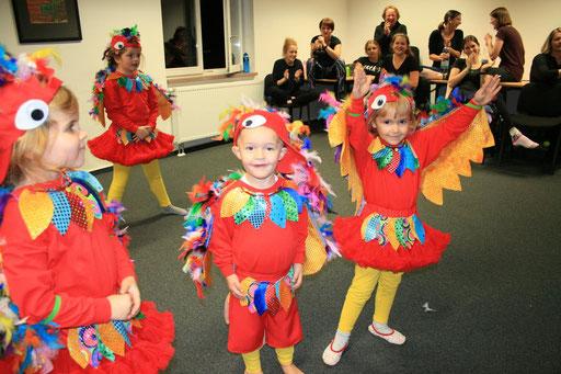Besuch aller aktiven Tanzgruppen im Vorfeld der Session 2018/19- Jugendabteilung