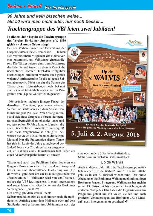 Borkum-Aktuell – Das Inselmagazin - Juli 2016