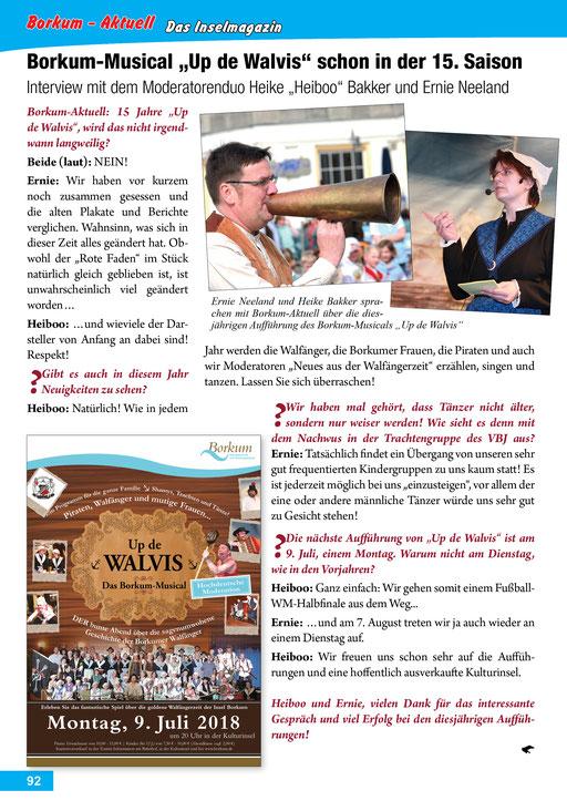 Borkum-Aktuell – Das Inselmagazin - Juli 2018