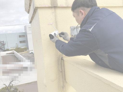 WEBカメラ・ウェブカメラの取付【新潟市の事務所・会社電気設備|人気工事】