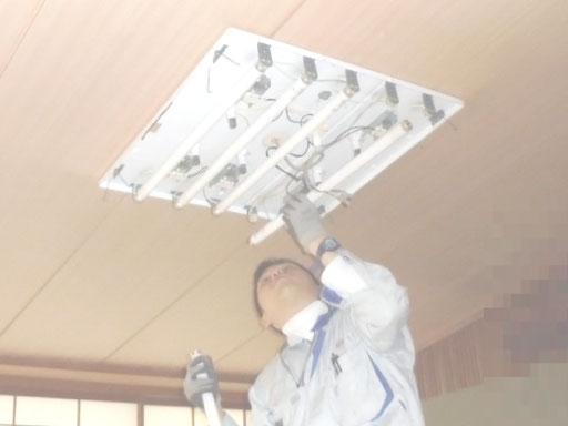 公民館の照明器具交換【新潟市】