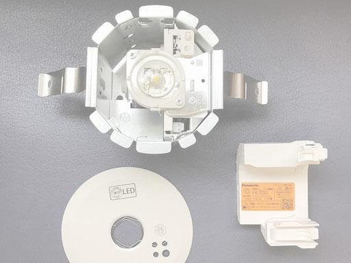 非常照明器具の交換【新潟市の事務所・会社電気設備|人気工事】