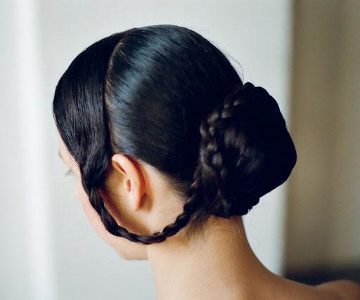 Spätbiedermeier - Eigenhaar mit Haarteilen
