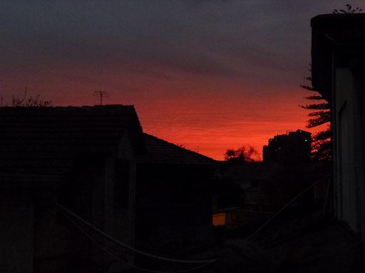 Sonnenuntergänge wie im Sommer