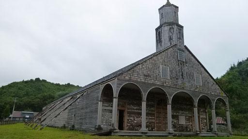 Kirche von Quinchao (grösste der Holzkirchen auf Chiloe)