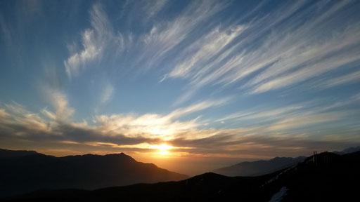 Sunset auf dem Cerro