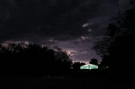 Gewitter über Calacmul