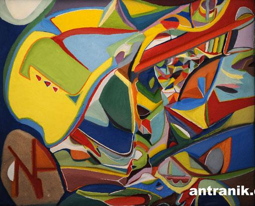 Abstraktes Relief / Das Erste
