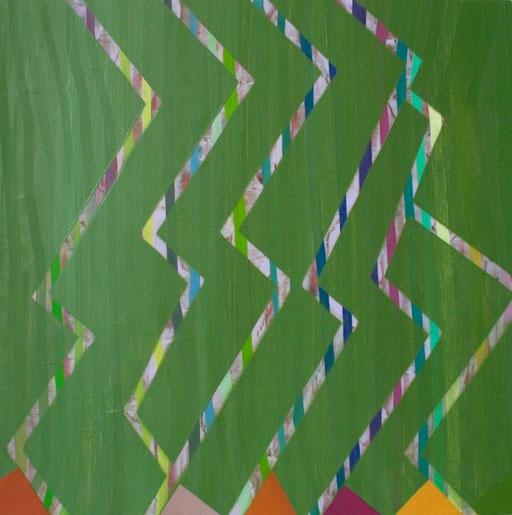 """Subtle Tendencies, 16""""x16"""", oil on wood panel, 2010"""