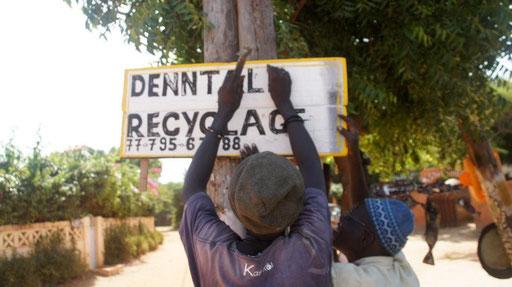 COUP Denntal Recyclage Popenguine Senegal Moussa Ba