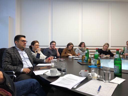 MNM-Studierende zu Gast im Zentralen Dienst FuE & Innovationsmanagement der AGAPLESION gAG | Foto: IZGS