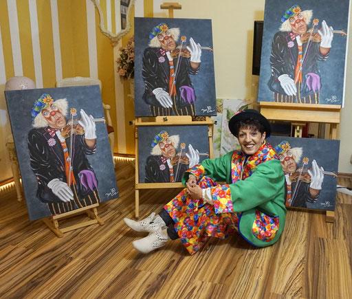 Ich und meine Clowns....