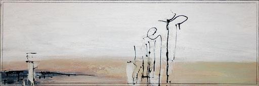 """""""Die Hoffnung"""" 90x30cm"""