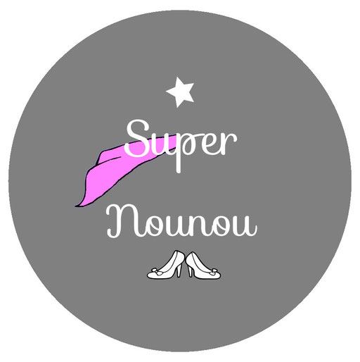 Super Nounou badge miroir magnet décapsuleur