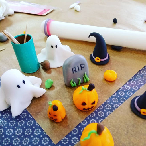Atelier pâtisserie Halloween Tonka Croix Rousse
