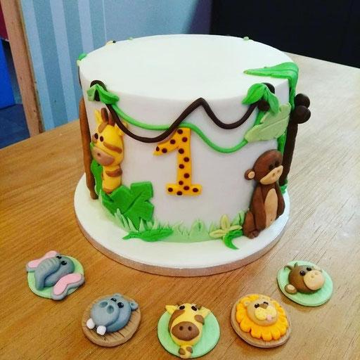 gateau-anniversaire-animaux-jungle-Tonka-Croix-Rousse