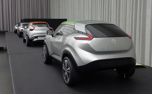 Prototype NISSAN JUKE 2019 par Nissan