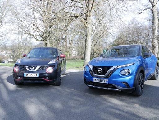 Nissan JUKE 2019 N-DESIGN avec JUKE 2015