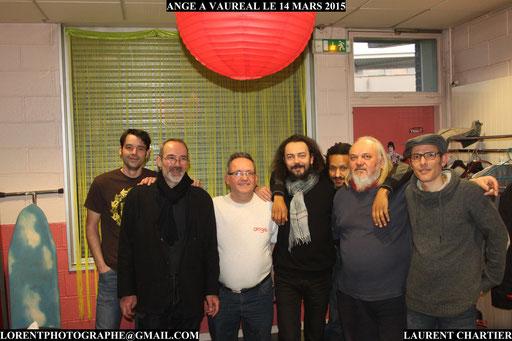 Ange backstage au forum de Vauréal