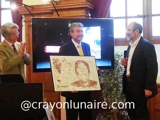 Avec Nicolas Leday pour les 25 ans de la foire aux vins de Compiègne