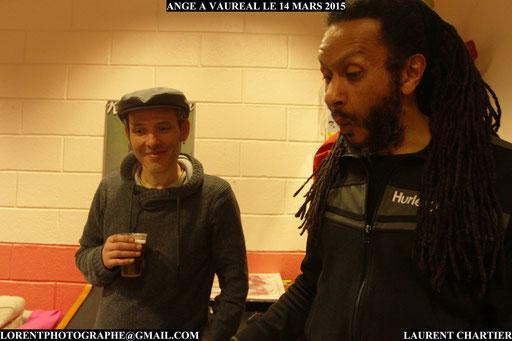 Hassan Hajdi et Thierry Sidhoum à Vauréal
