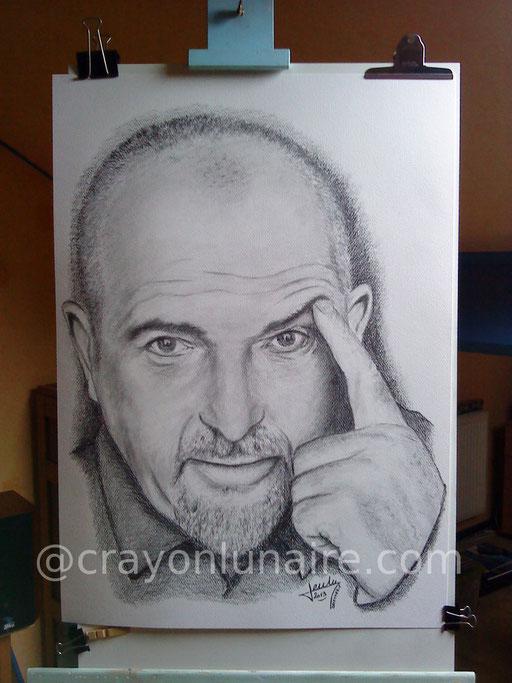 PortraitPeter Gabriel  graphite