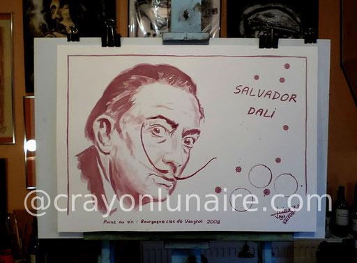 Salvador-dali-portrait-peinture-au-vin