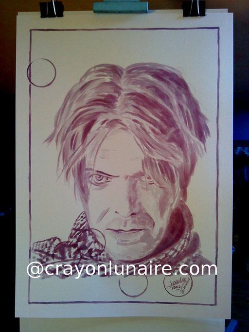 David Bowie : Côtes du Rhône village 2010.