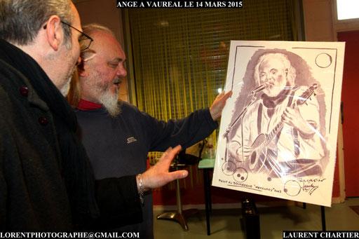 Christian Décamps au forum de Vauréal
